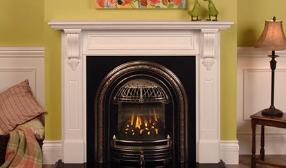 Gas Victorian Fireplace Home Design