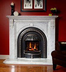 Gas Victorian Fireplace Home